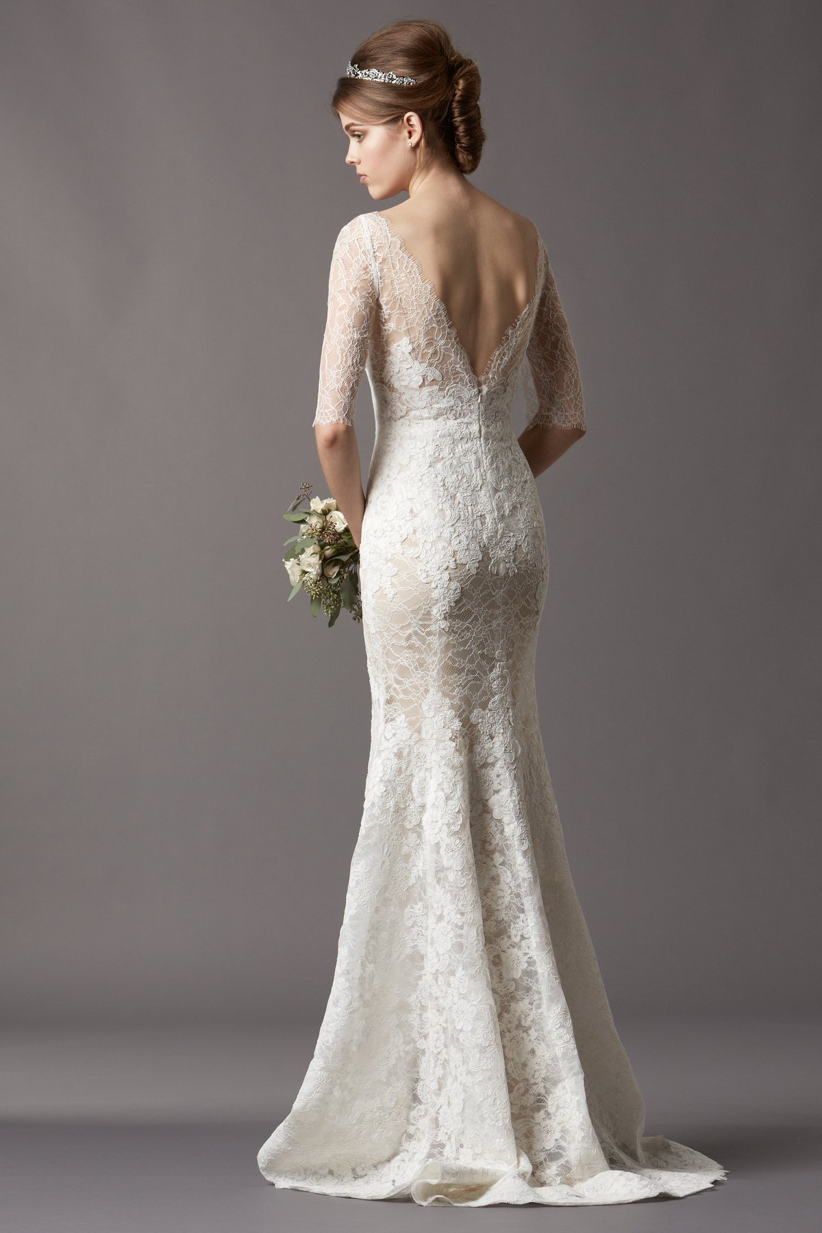 Wedding Dresses With Sleeves Under 500 : Wedding dress trends lace sleeves dipped in