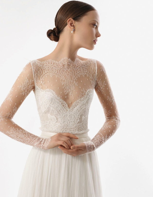 2014 - 2015 Wedding Dress Trends - Lace Sleeves 6