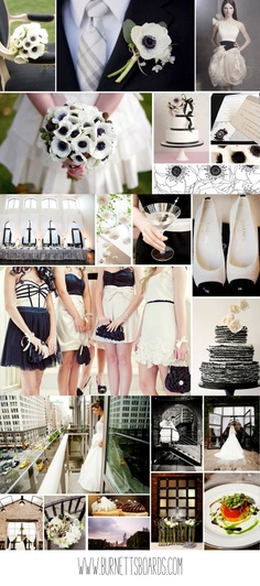 Black & White Wedding Theme Ideas 14