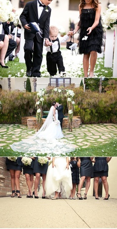 Black & White Wedding Theme Ideas 17