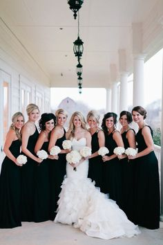 Black & White Wedding Theme Ideas 3
