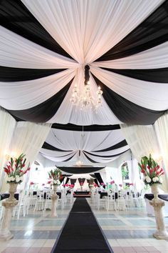 Black & White Wedding Theme Ideas 5