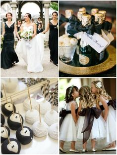 Black & White Wedding Theme Ideas 9
