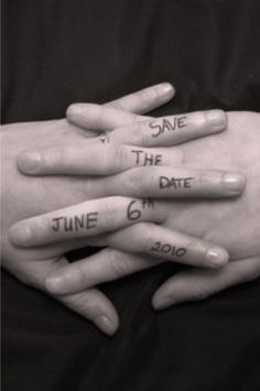 Creative Save The Date Photo Ideas 19