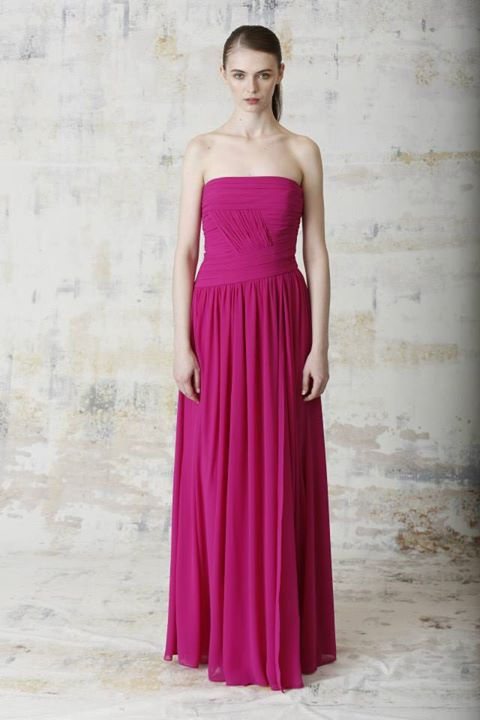 Monique Lhuillier Spring 2015 Bridesmaid Dress Collection 10