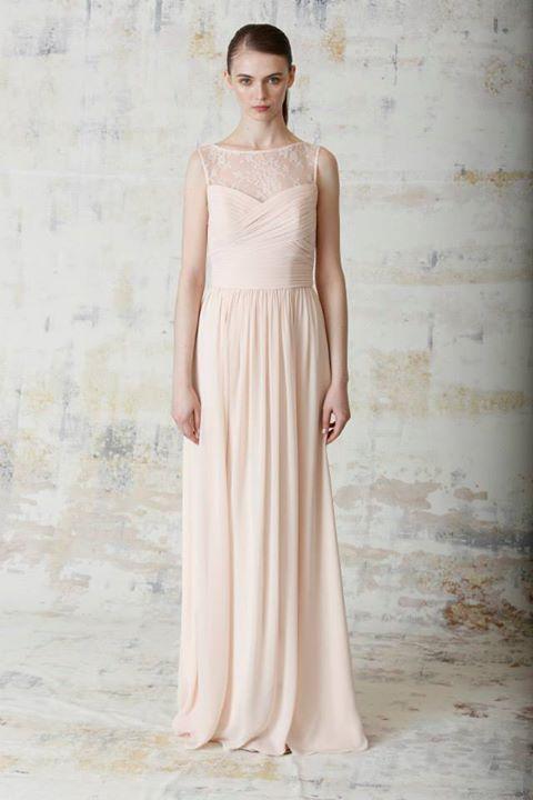Monique Lhuillier Spring 2015 Bridesmaid Dress Collection 11