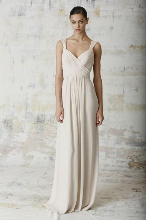 Whats In Style Bridesmaid Dresses Fall 2015 Monique Lhuillier Spring