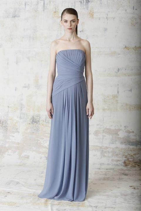 Monique Lhuillier Spring 2015 Bridesmaid Dress Collection 6