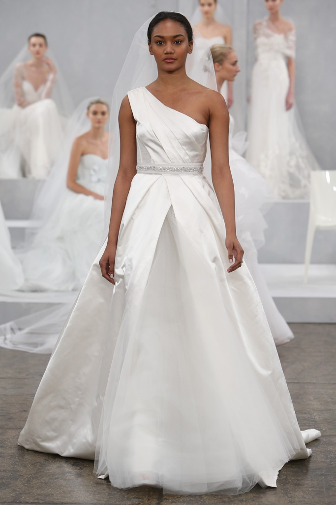 Monique Lhuillier's Spring 2015 Wedding Dress Collection 11