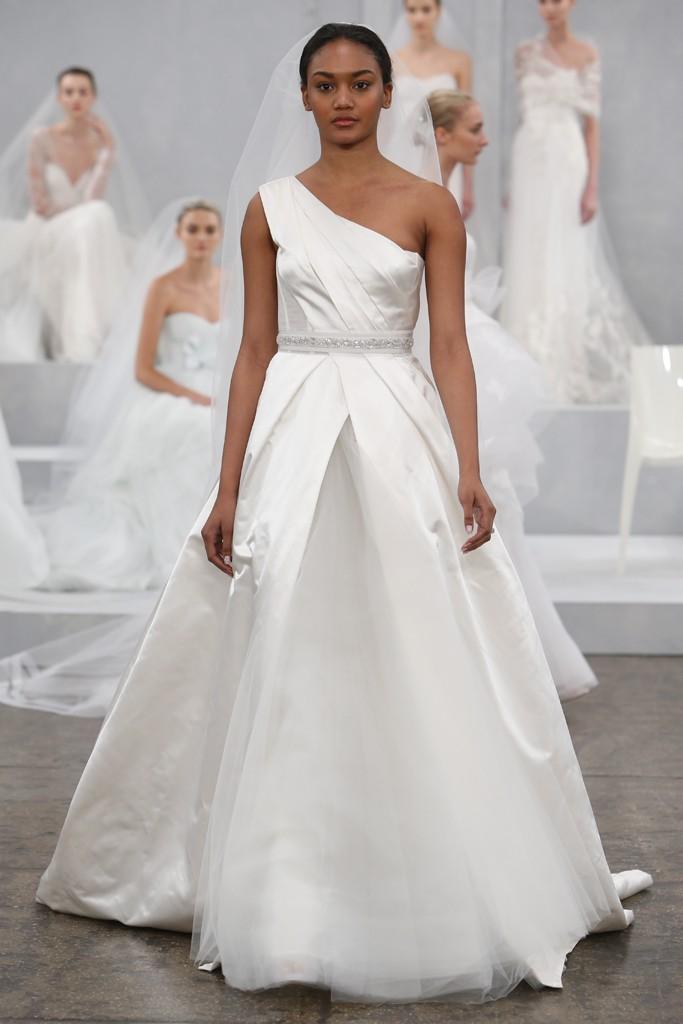 Monique Lhuillier's Spring 2015 Wedding Dress Collection 11