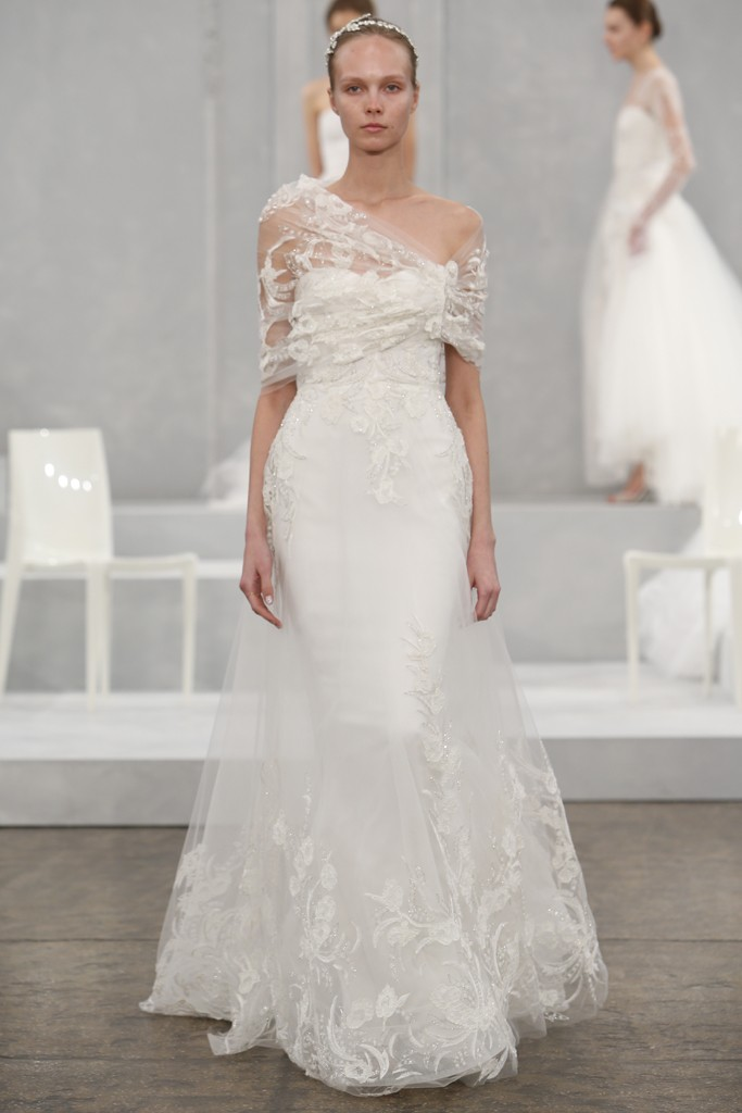 Monique Lhuillier's Spring 2015 Wedding Dress Collection 2