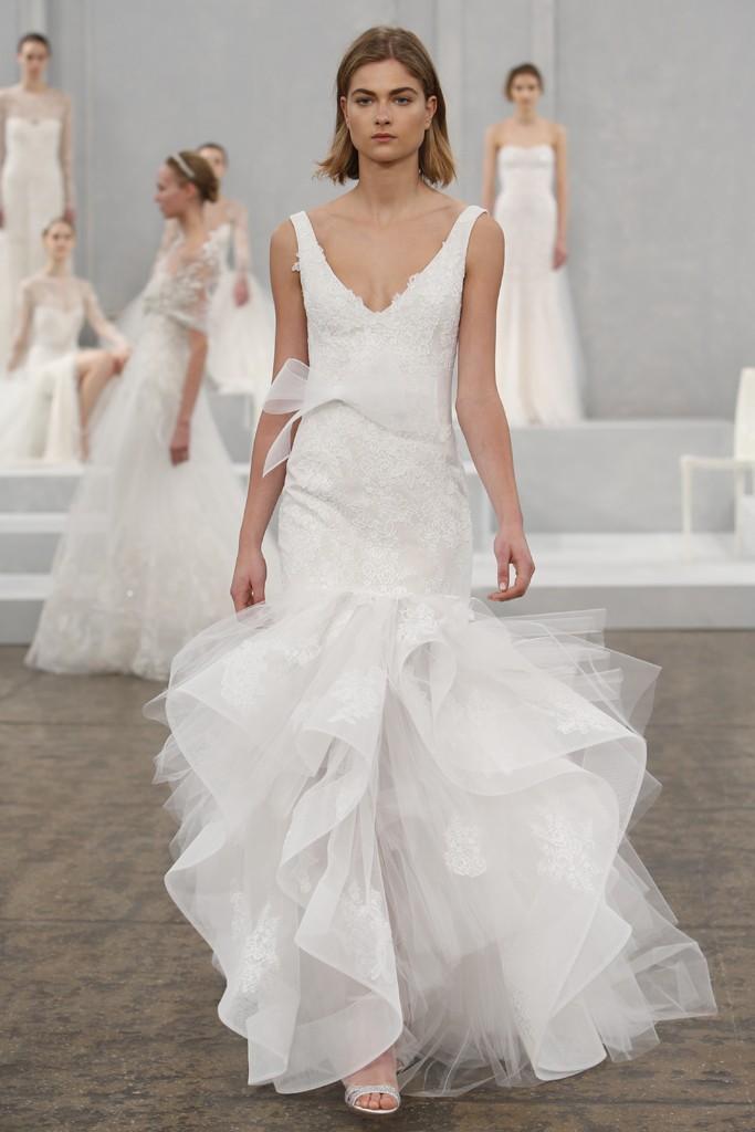 Monique Lhuillier's Spring 2015 Wedding Dress Collection 3