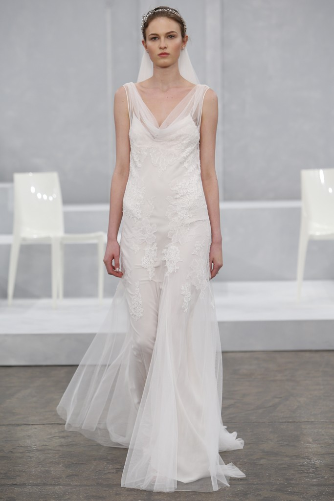 Monique Lhuillier's Spring 2015 Wedding Dress Collection 4