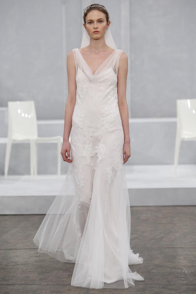 Monique Lhuillier's Spring 2015 Wedding Dress Collection 4