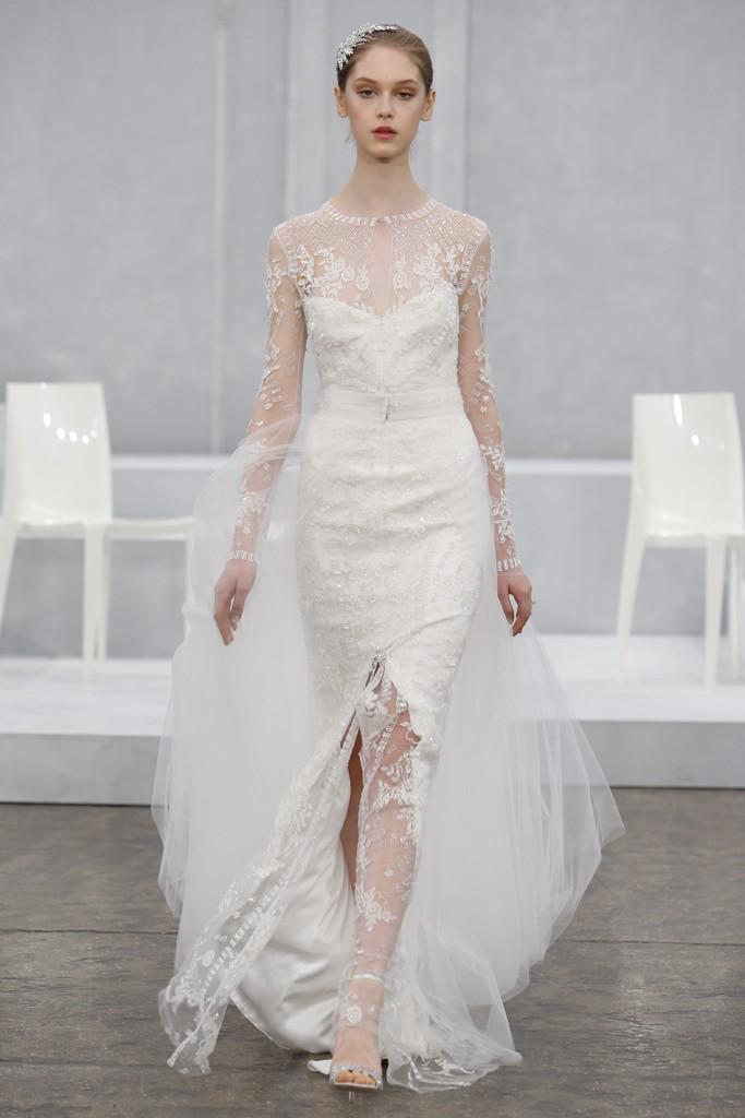 Monique Lhuillier's Spring 2015 Wedding Dress Collection 5