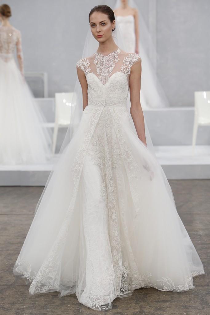 Monique Lhuillier's Spring 2015 Wedding Dress Collection 6