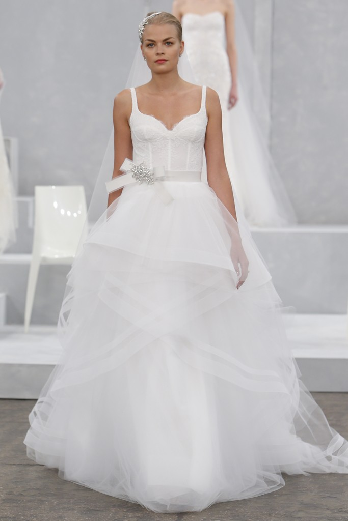 Monique Lhuillier\'s Spring 2015 Wedding Dress Collection – Dipped In ...