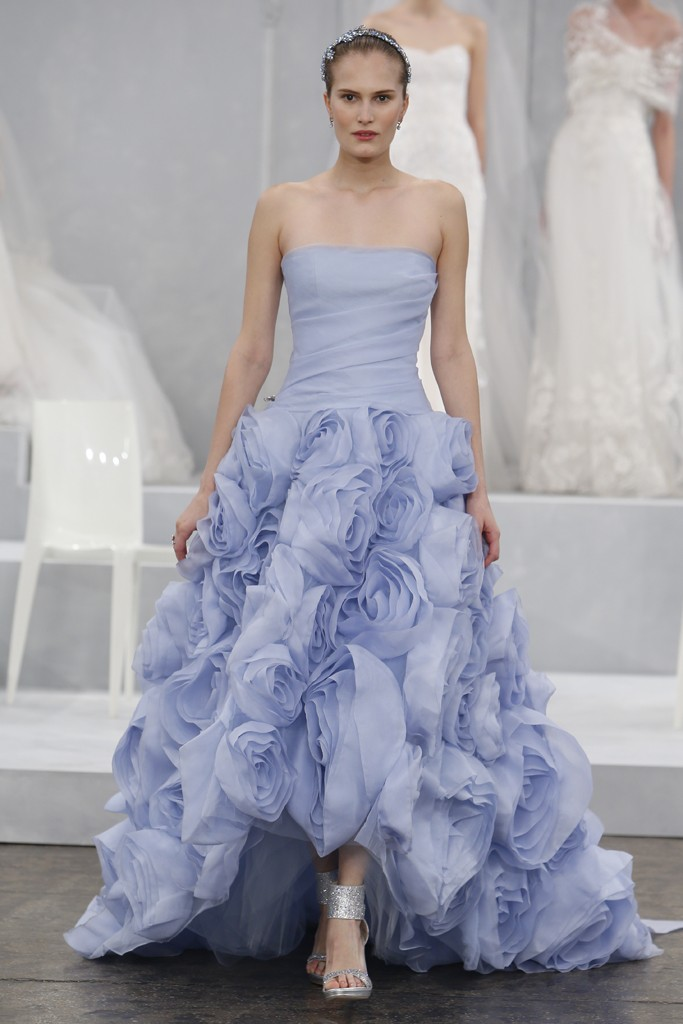 Monique Lhuillier's Spring 2015 Wedding Dress Collection 8