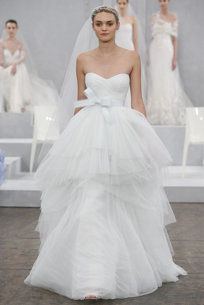 Monique Lhuillier's Spring 2015 Wedding Dress Collection 9