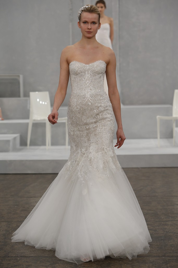 Monique Lhuillier's Spring 2015 Wedding Dress Collection
