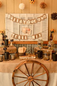 Rustic Wedding Theme Ideas 2