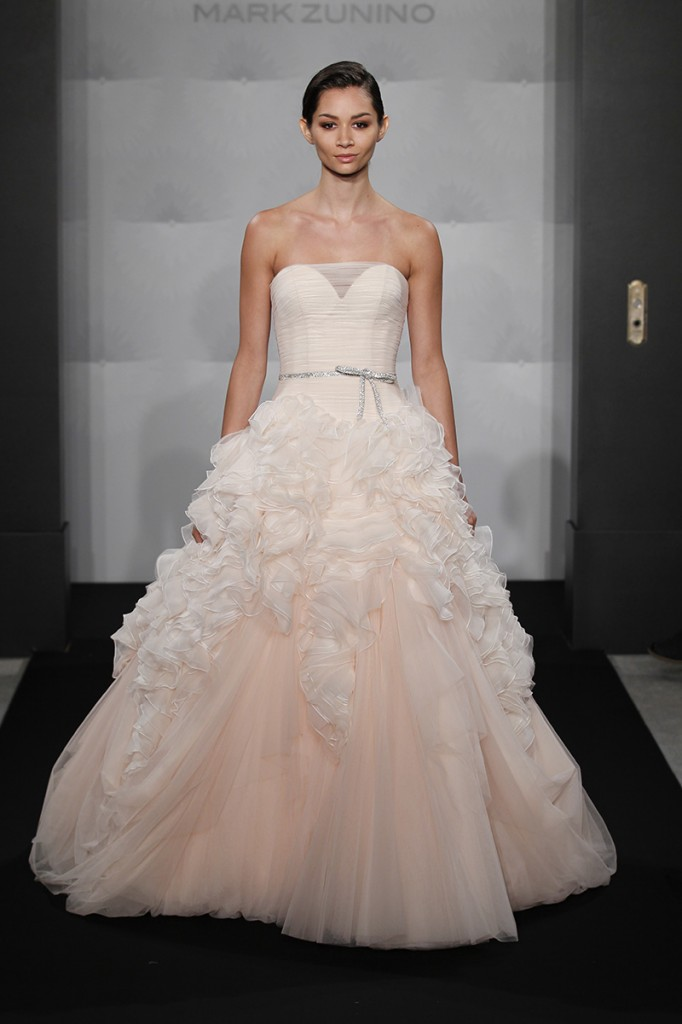 2014 / 2015 Wedding Dress Trends – Ombre Wedding Gowns – Dipped In Lace