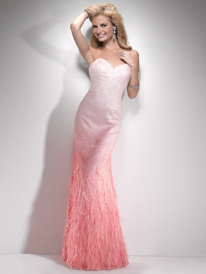 2014 2015 wedding dress trends ombre wedding gowns for Pink ombre wedding dress