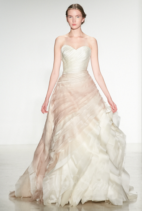 2014 / 2015 Wedding Dress Trends – Ombre Wedding Gowns – Dipped In ...
