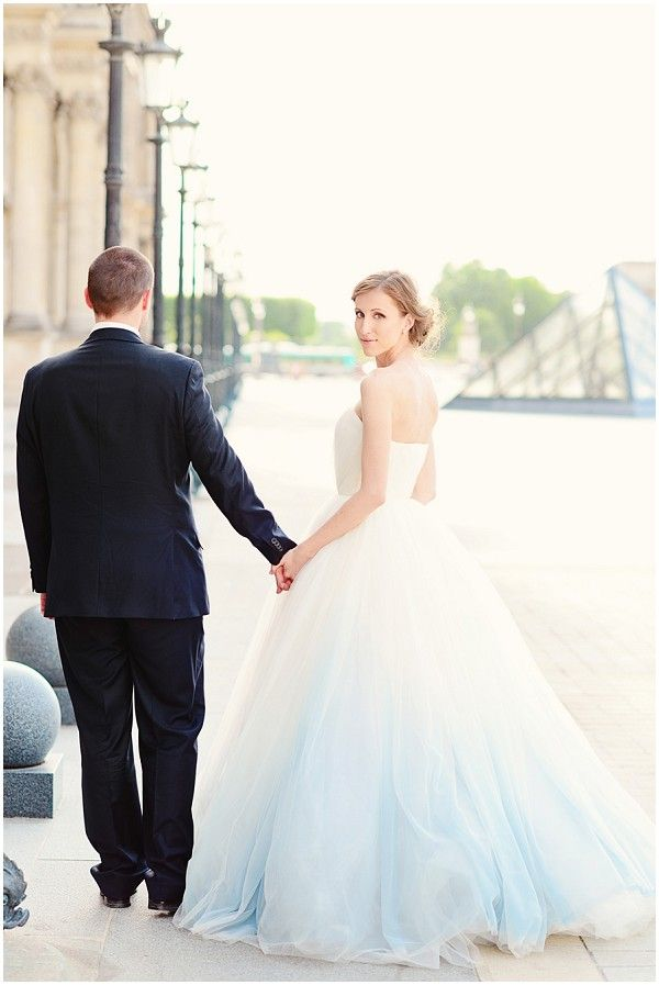 2014 2015 Wedding Dress Trends -  Ombre Wedding Gowns 9