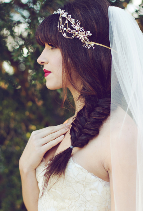 2014 fall winter 2015 wedding hairstyles 2 dipped in lace
