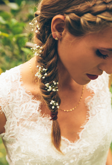 2014 Fall - Winter 2015 Wedding Hairstyles 3