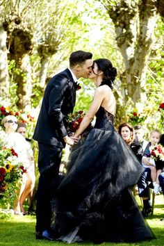 Gothic Wedding Dresses 11