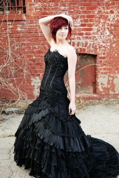 Gothic Wedding Dresses 2