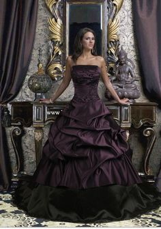 Gothic Wedding Dresses 3