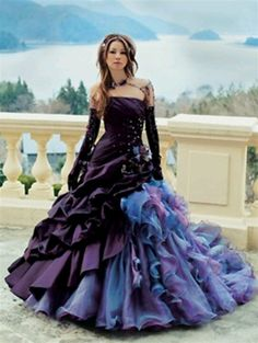 Gothic Wedding Dresses 7