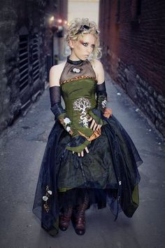 Gothic Wedding Dresses 8