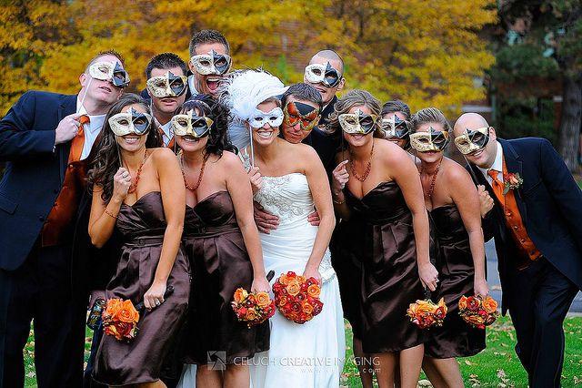 Masquerade Wedding Theme Ideas 10