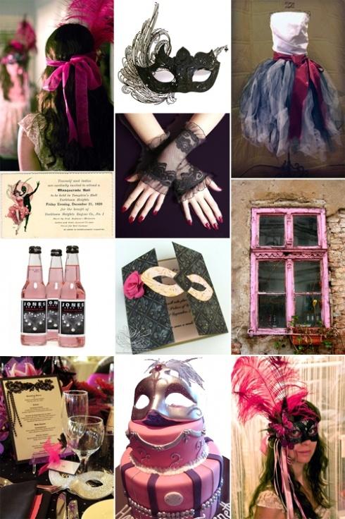 Masquerade Wedding Theme Ideas 11