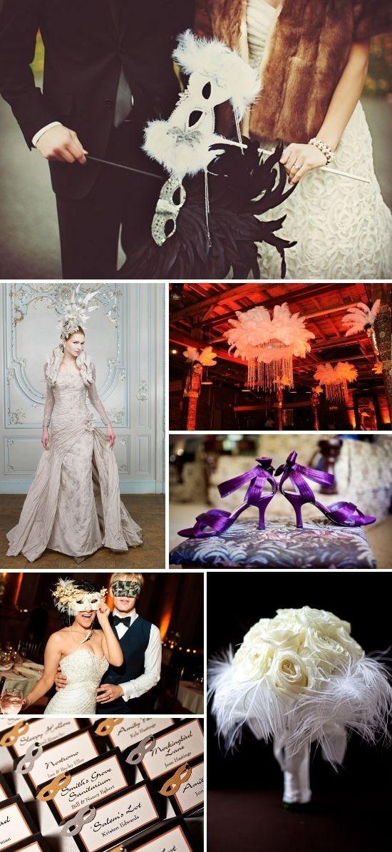 Masquerade Wedding Theme Ideas 13