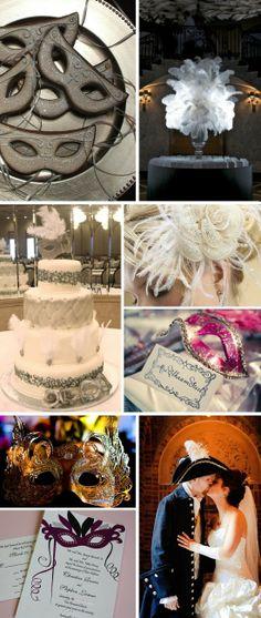 Masquerade Wedding Theme Ideas 14