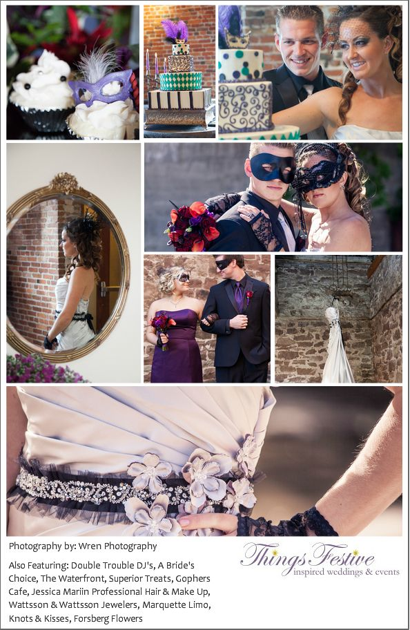 Masquerade Wedding Theme Ideas 9 Dipped In Lace