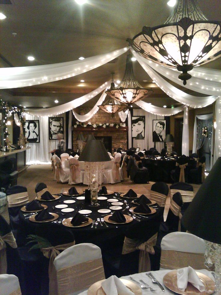 Old Hollywood Glamour Event Decor Www Imgkid Com The