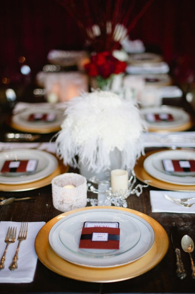 Retro Old Hollywood Wedding Theme Ideas 14
