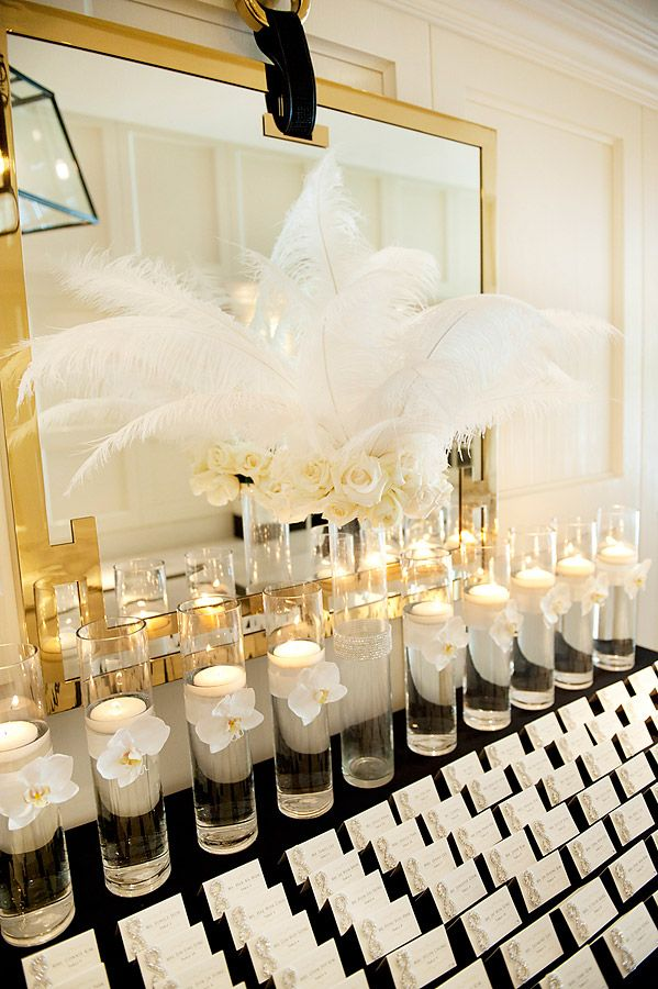 Retro Old Hollywood Wedding Theme Ideas 23