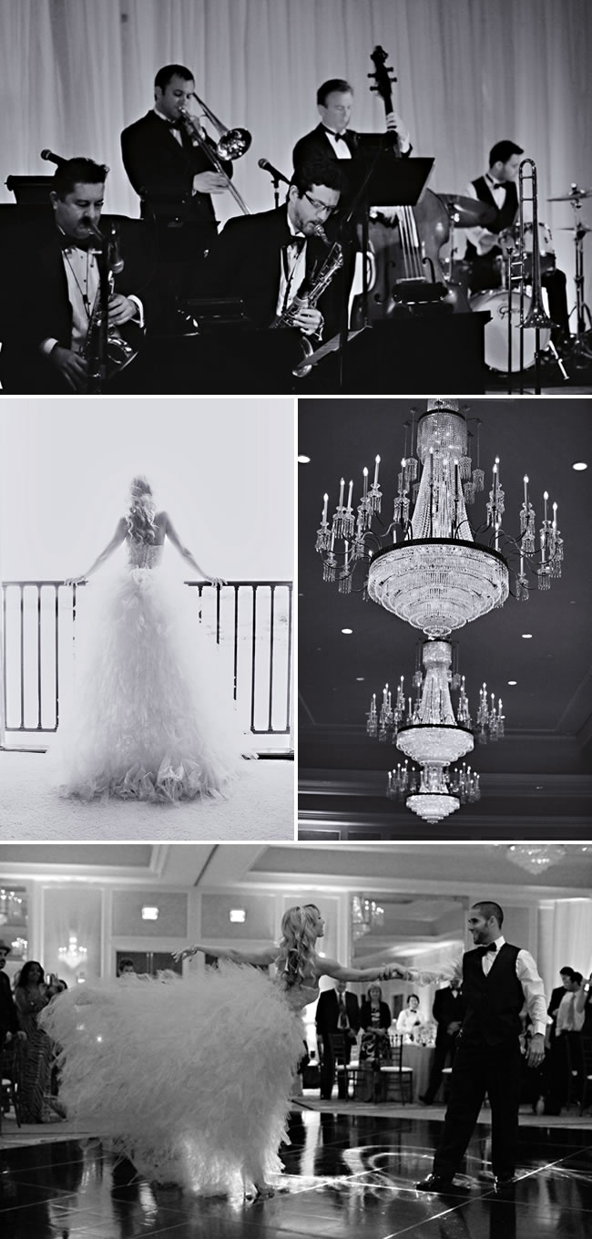 Retro Old Hollywood Wedding Theme Ideas 4