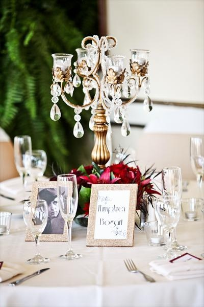 Retro Old Hollywood Wedding Theme Ideas 9