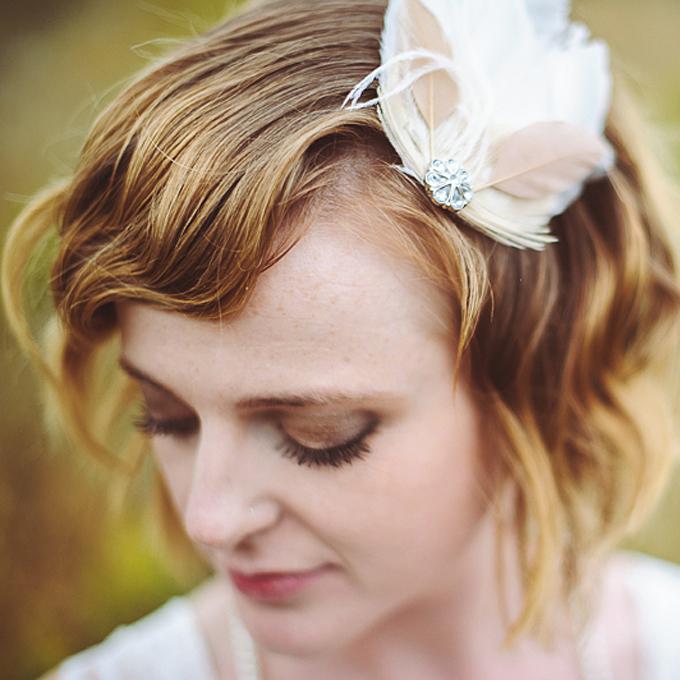 Wedding Hairstyles for Short Hair 3