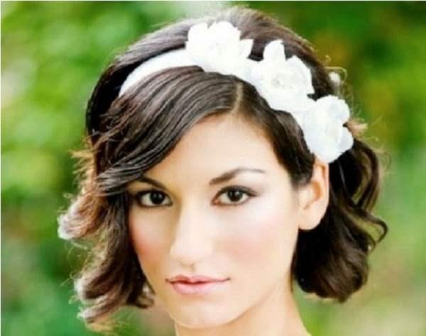 Wedding Hairstyles for Short Hair 6