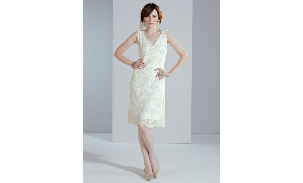 10 Short Little White Dresses To Wear To Your Wedding Reception 4