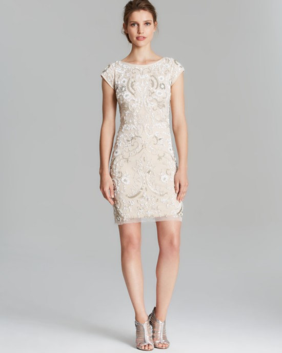 10 Short Little White Dresses To Wear To Your Wedding Reception 6